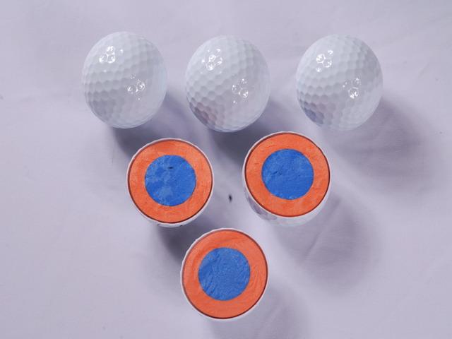 Tournament golf ball