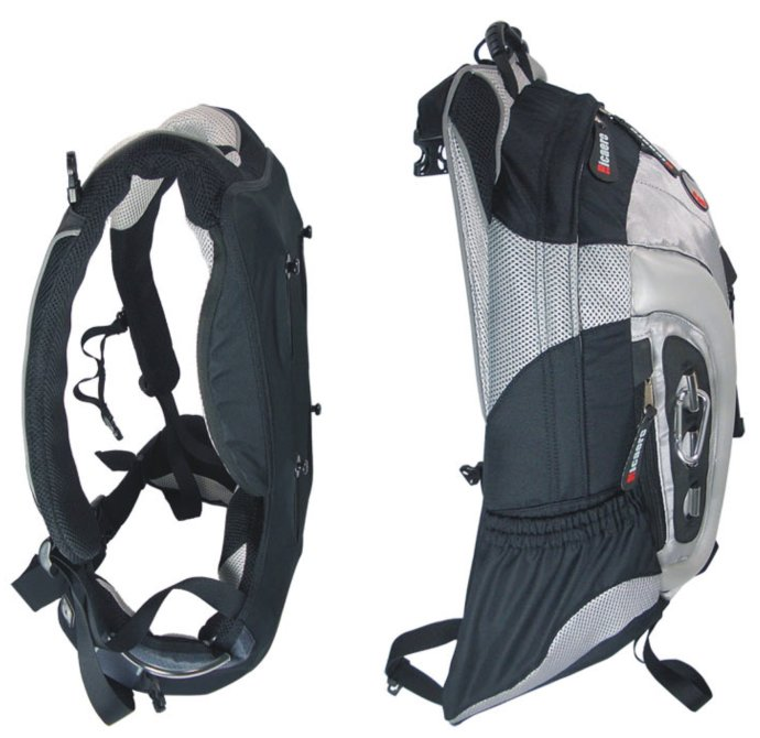 Hiking pack 65L Gear Pack with patent