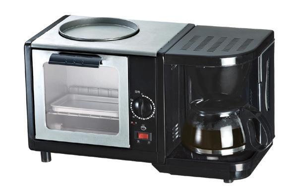 3 in 1 multifunction breakfast maker (with kettle)