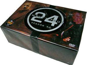 24 Twenty Four Hours Seasons 1-8 DVD box set 54 dvds- FREE shipping
