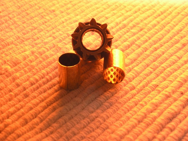 bronze wrapped self-lubricated bushings