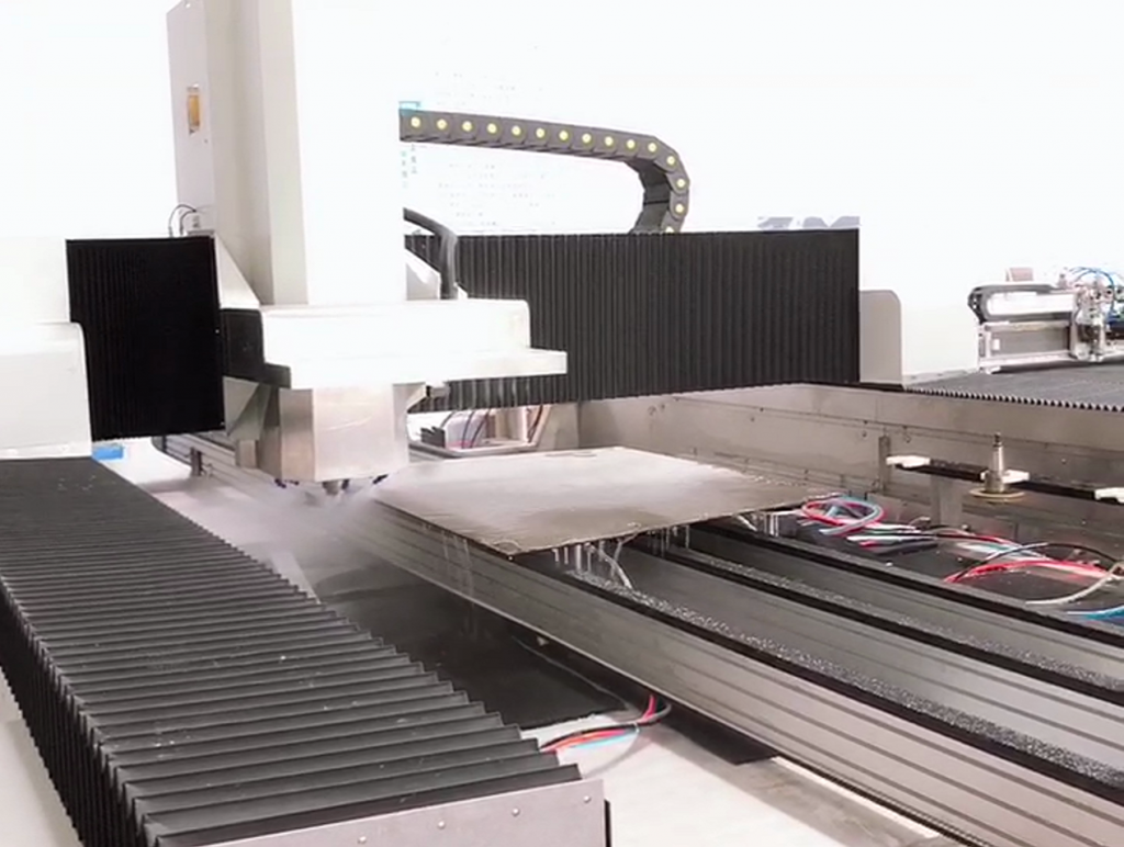 CNC Glass process centre  for  driling , grinding , polishing with CE certification