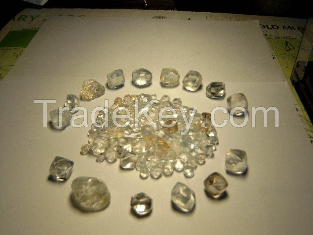 Rough Diamonds And Polish Diamonds for sell