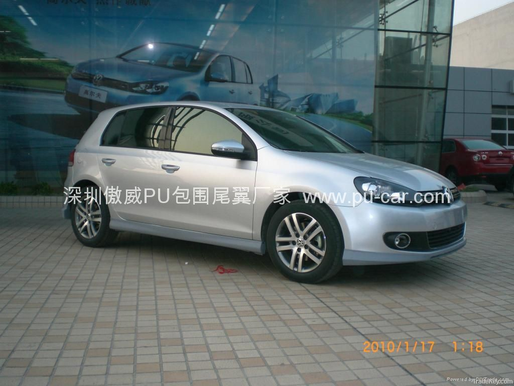 vw golf 6 votex body kits by shenzhen aowei auto parts co. Black Bedroom Furniture Sets. Home Design Ideas