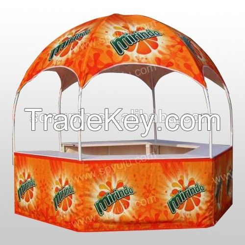 2015 new fashion hexagonal domed tent /booth for advertising