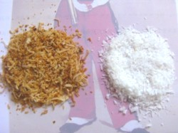 Desiccated Coconut Origin Malaysia