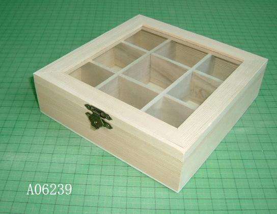 Wooden Tea Boxes