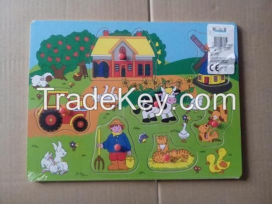 Wooden Puzzles,Jigsaw toys, EN71 tested