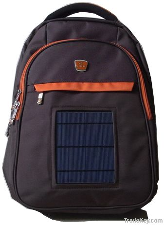 Newly designed modern high-quality big Solar backpack for traveling