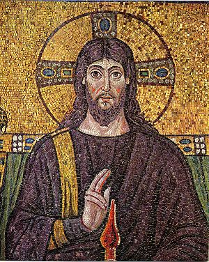The image of Christ Mosaic