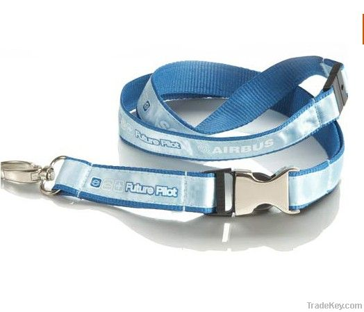 Imprinted Satin Lanyard