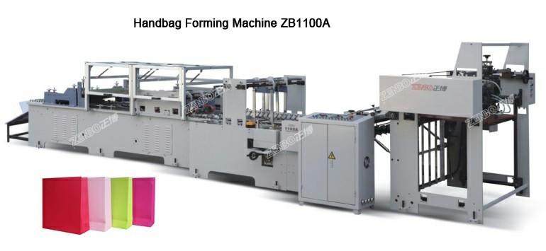 Handbag Forming Machine ZB1100A