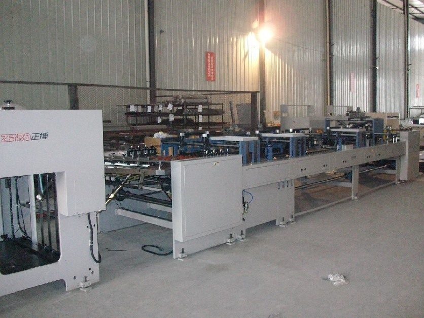 Automatic Sheet Fed Paper Bag Making Machine