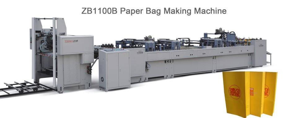 Sheet Feeding Paper Handbag Making Machine ZB1100B
