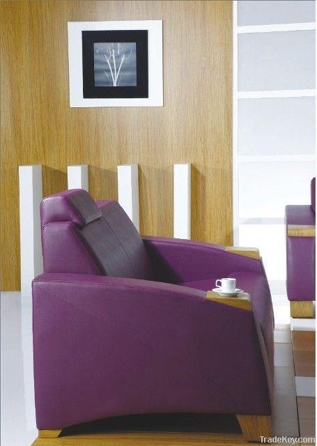 Office Leather Sofa Set