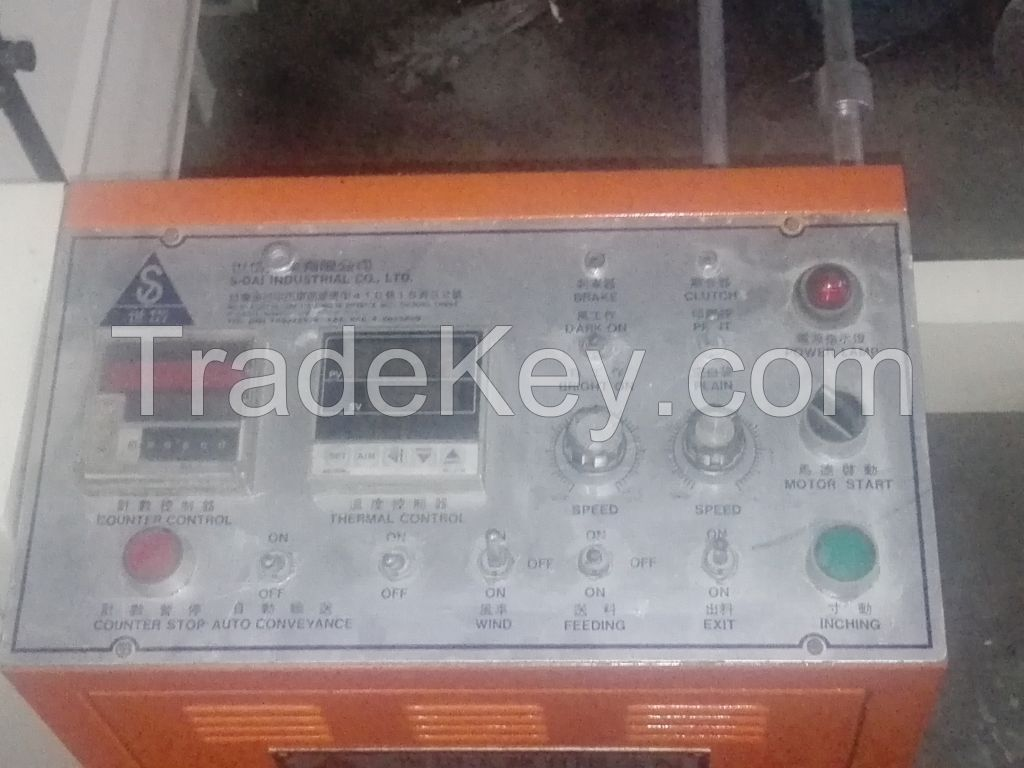 Plastic Gloves and Shopping Bag Making Machine