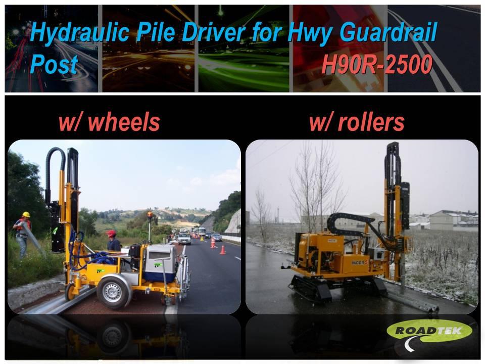 Pile Driver Machine