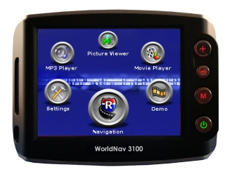 World Nav 3100 Portable Navigator