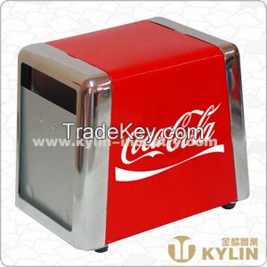 trapezoid shape napkin dispenser