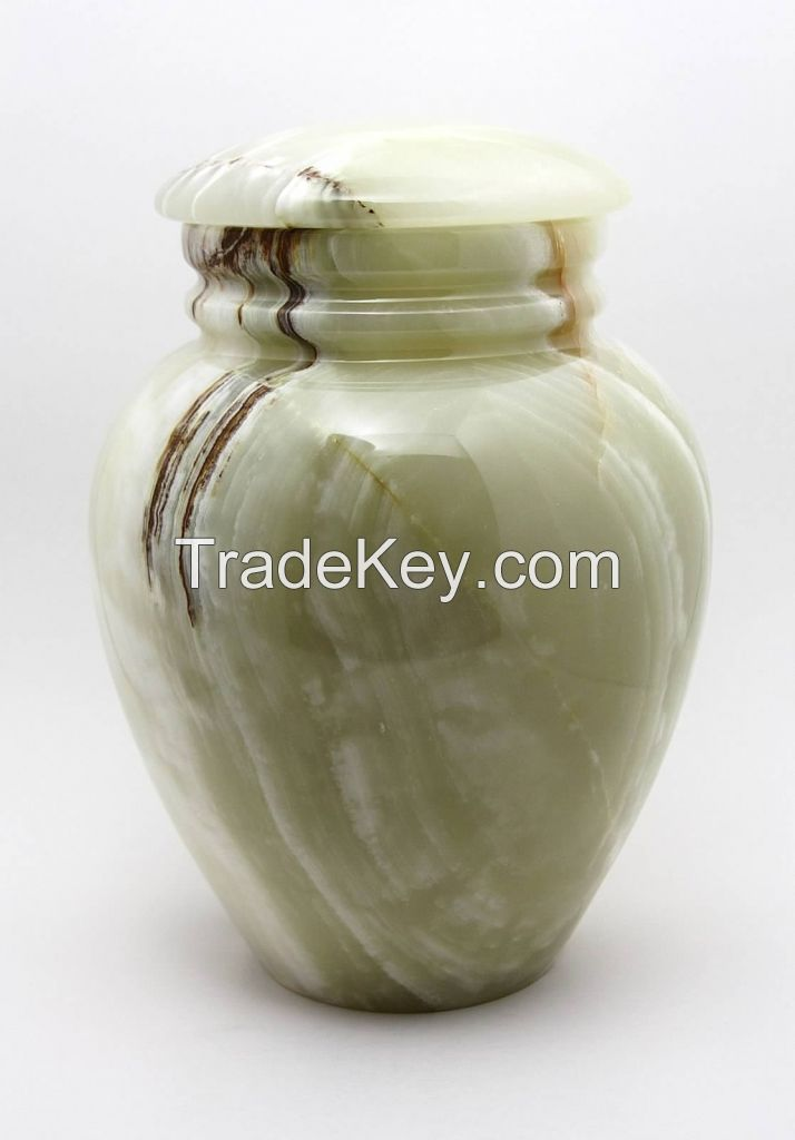 Cheap Whole Onyx Funeral Cremation Urns