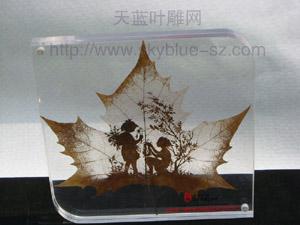 natural leaf carves------World exclamation