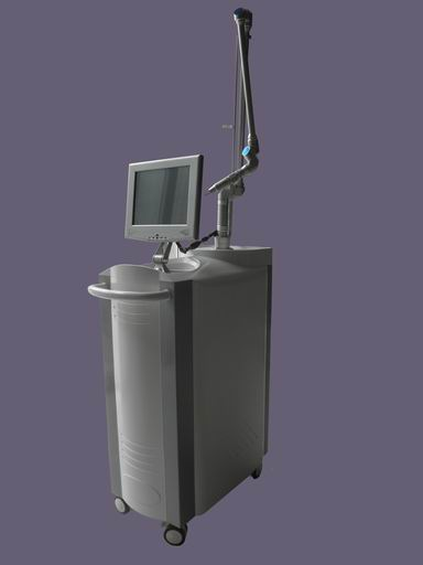 Q-switch Nd: yag laser for pigment removal beauty equipment