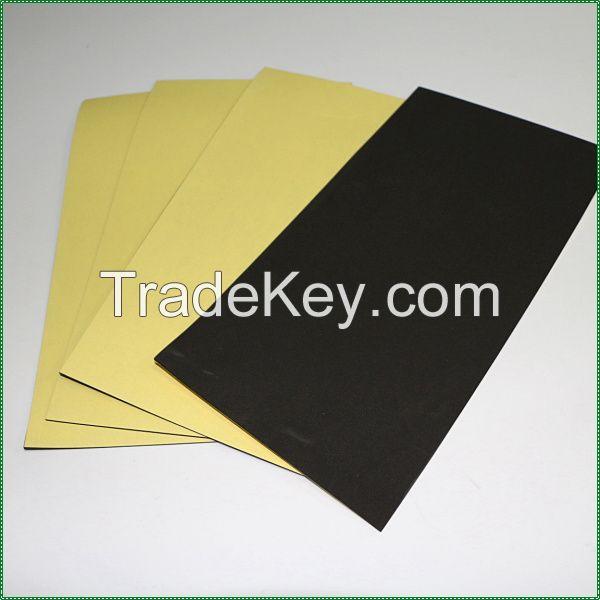 Black eva foam sheet with adhesive backing