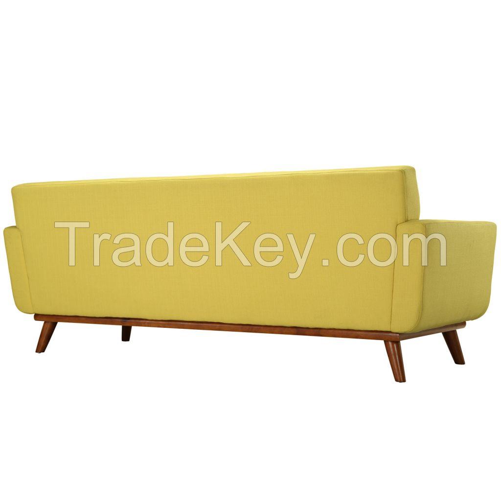 American Style Linen Fabric Modern Sofa