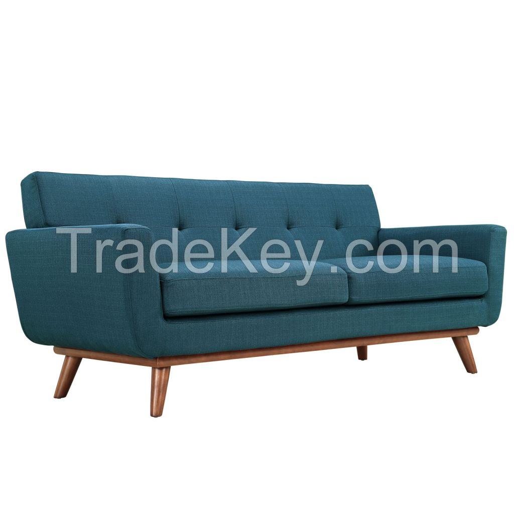 Modern Fabric Sofa Loveseat for Home furniture