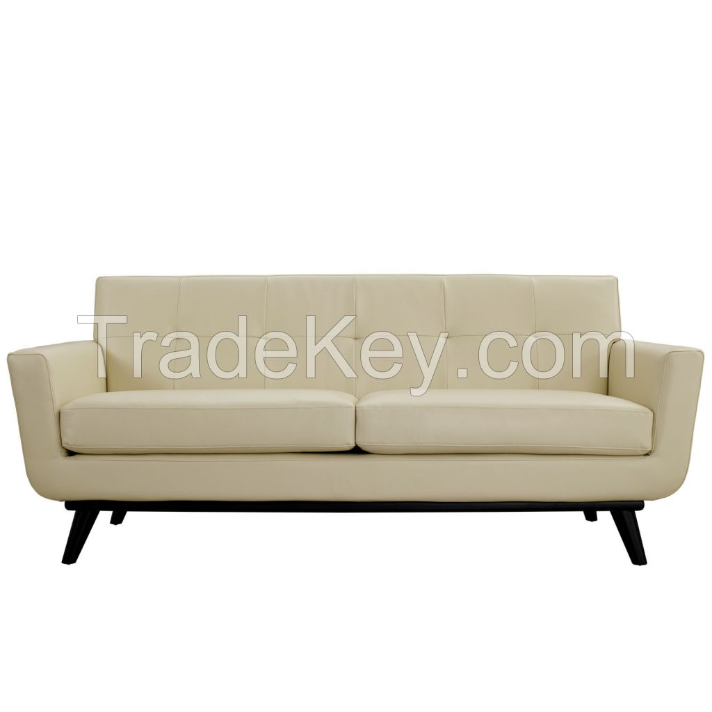 American Style Comfortable Leather Sofa