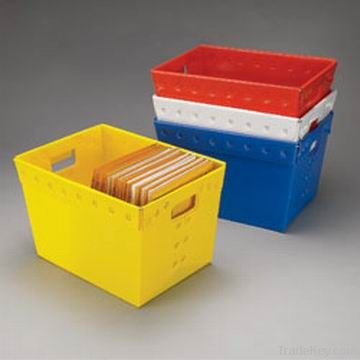 mail totes and mail trays