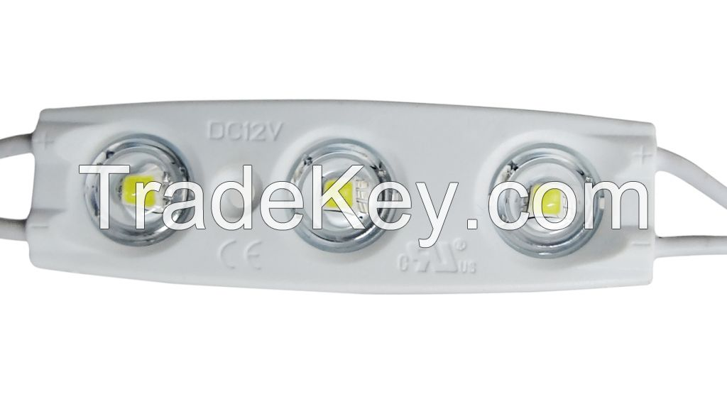 3pcs 5050(high-lumens) 1.5W IP65 150lms led module UL Listed E320022 for channel letter