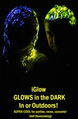 iGlow Self Illuminating Party Hairgel Distributors wanted 2011