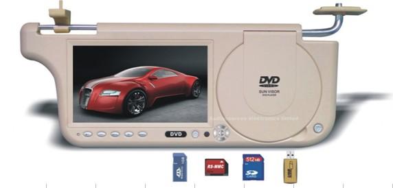 7 Inch Sunvisor Car DVD Player