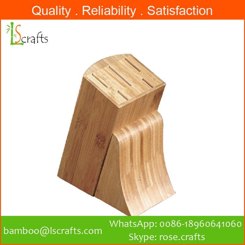 Bamboo Knife Blocks/ Knife holder/ Knife storage