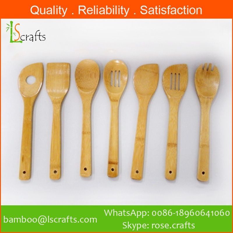 Eco-Friendly Bamboo Utensil Sets