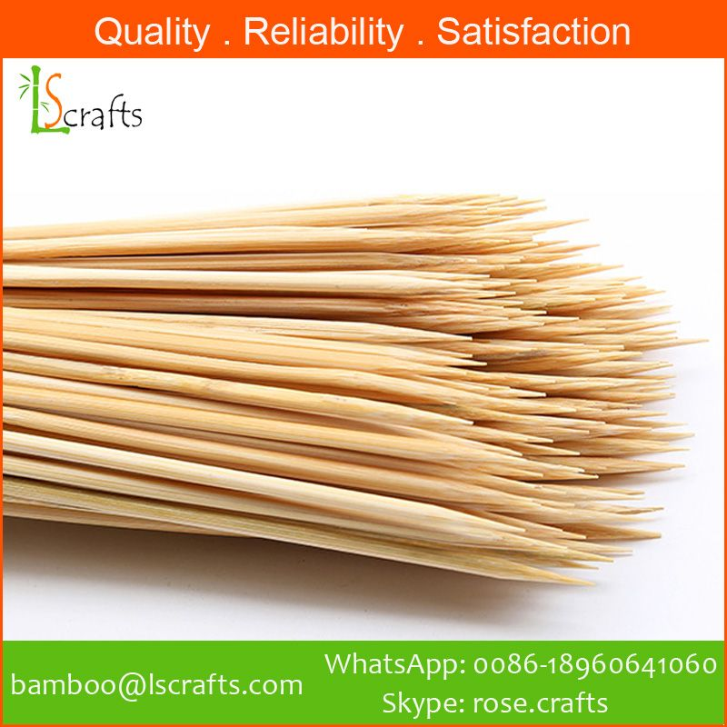 High Quality Bamboo BBQ Skewers from Chinese manufacturer