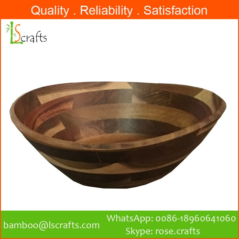 Acacia Wooden Salad Bowl