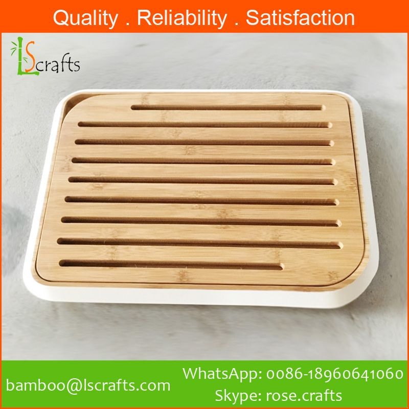 Bamboo Bread Cutting Board/Bread Chopping Board