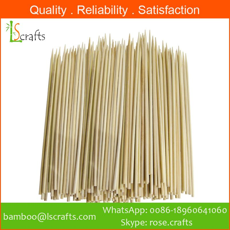 Eco-Friendly Bamboo BBQ Skewers