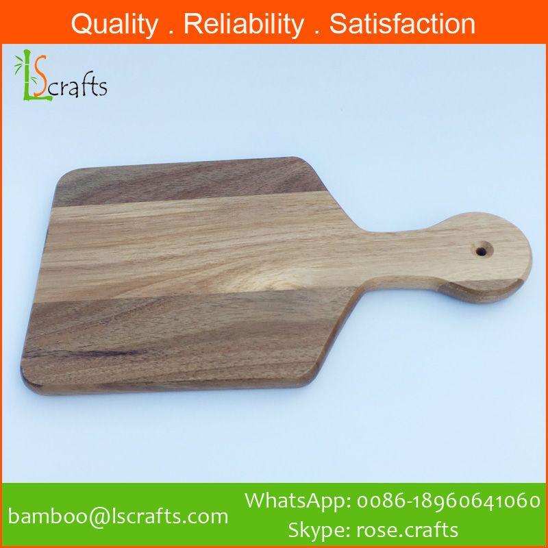 Wholesales Kitchenware Acacia Wooden Cutting Board Paddle board