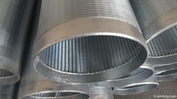 China low carbon galvanized water well screen