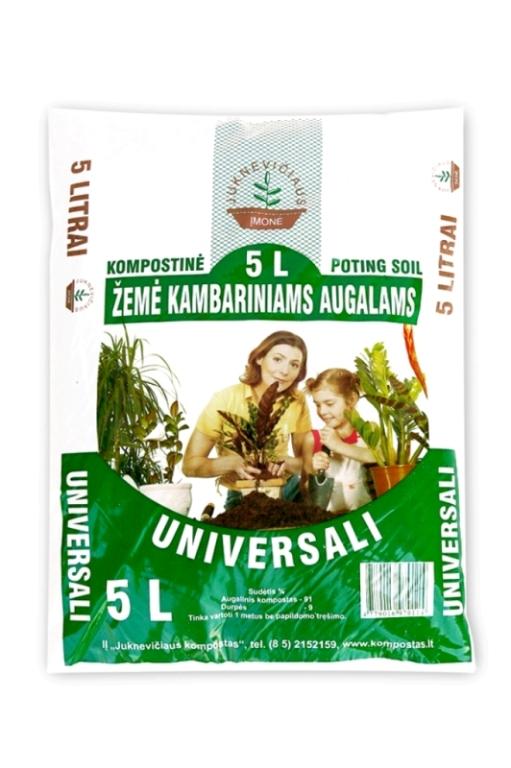 Universal compost soil, 5 l