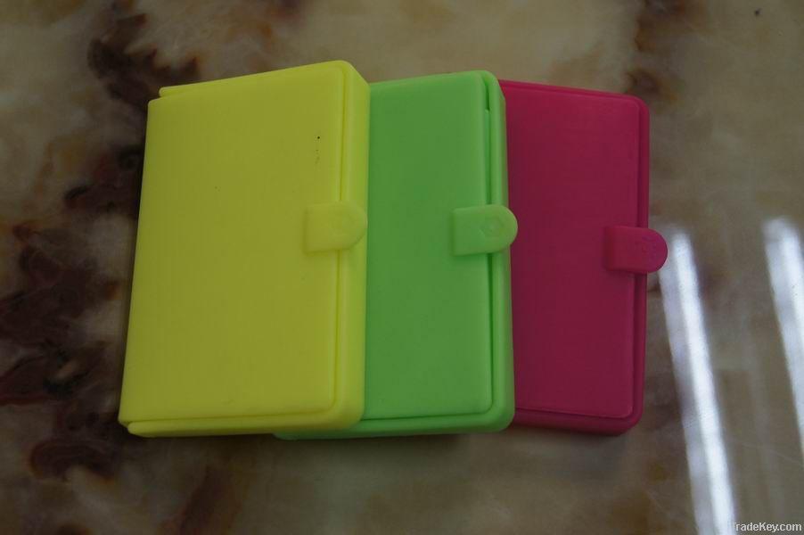 popular Q shape silicone coin purse