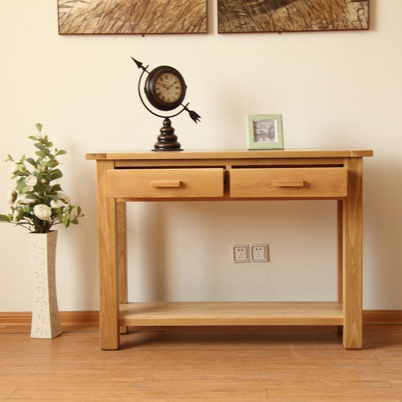 Solid oak Console Table(100% solid oak dining furniture)