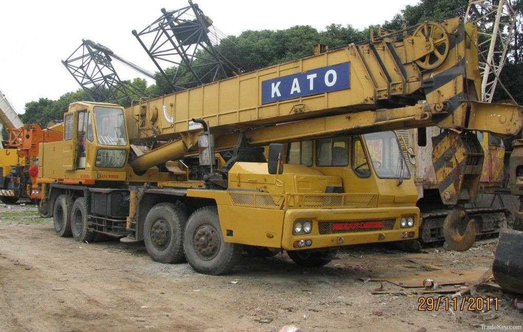 Kato Fully Hydraulic Truck Crane 50 Ton