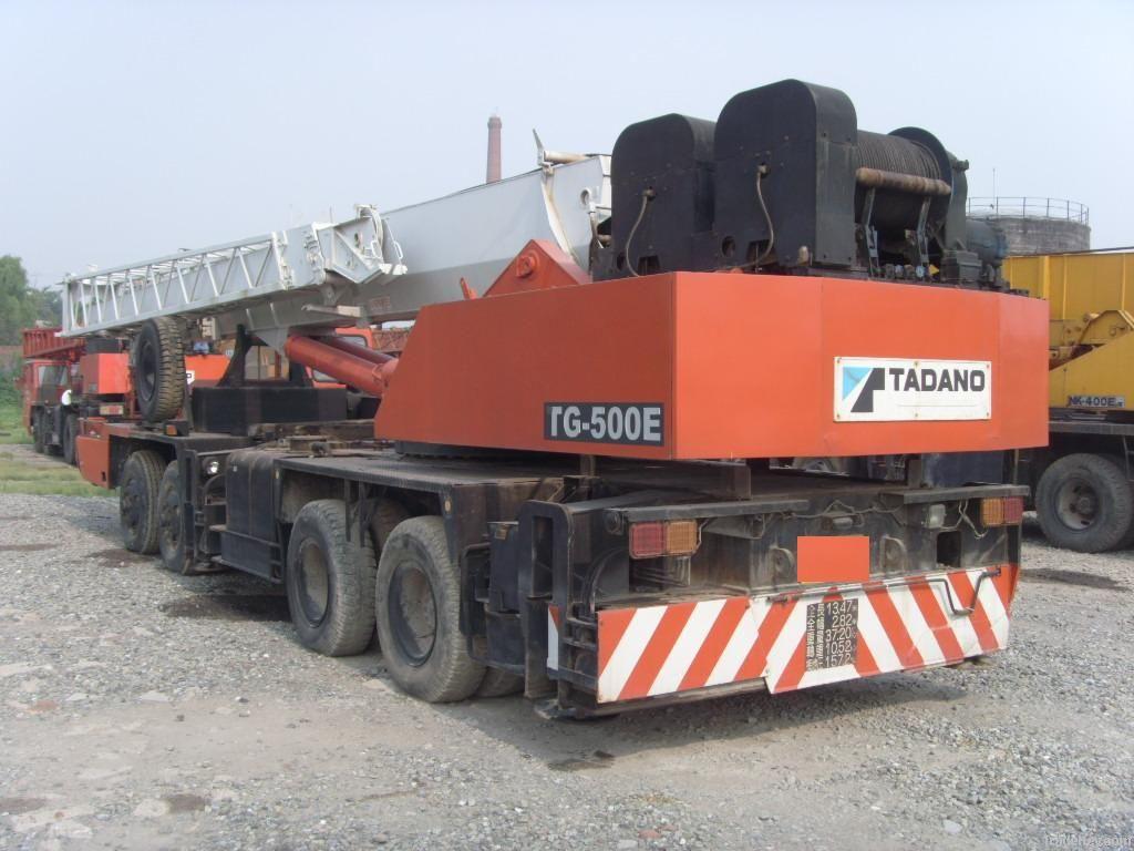 Tadano Truck Crane 50 Ton