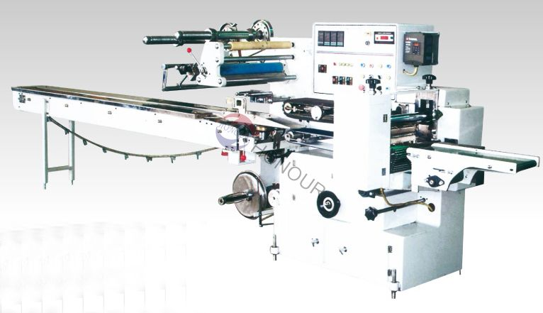 Automatic Heat-Shrink Pillow packaing machine
