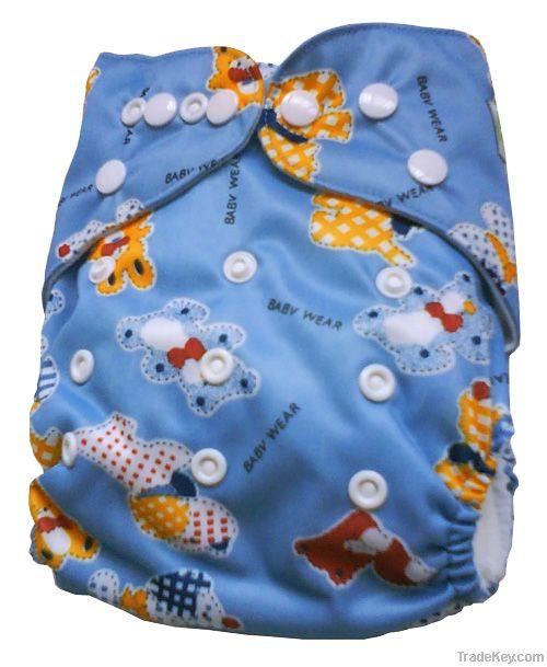 fdBum Printed Cloth Diapers
