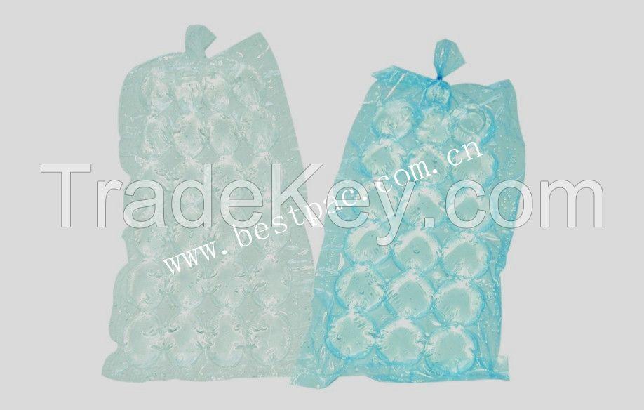 self closing ice cube bags